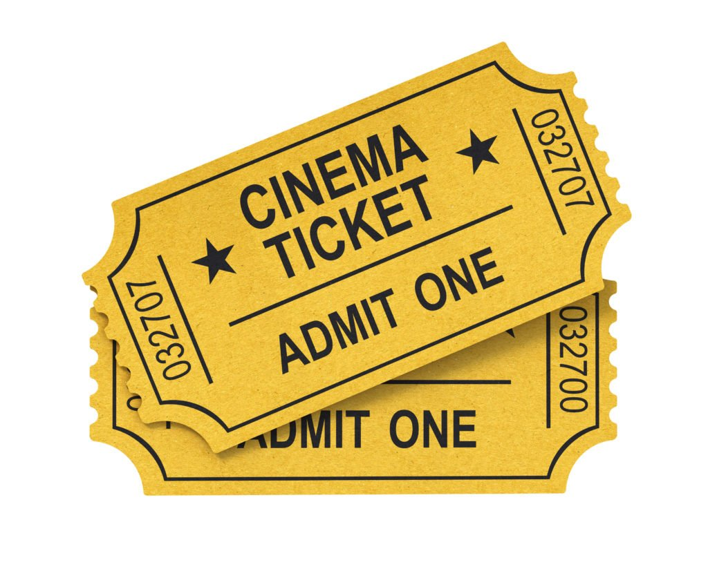 Gifts to give any kid - movie tickets