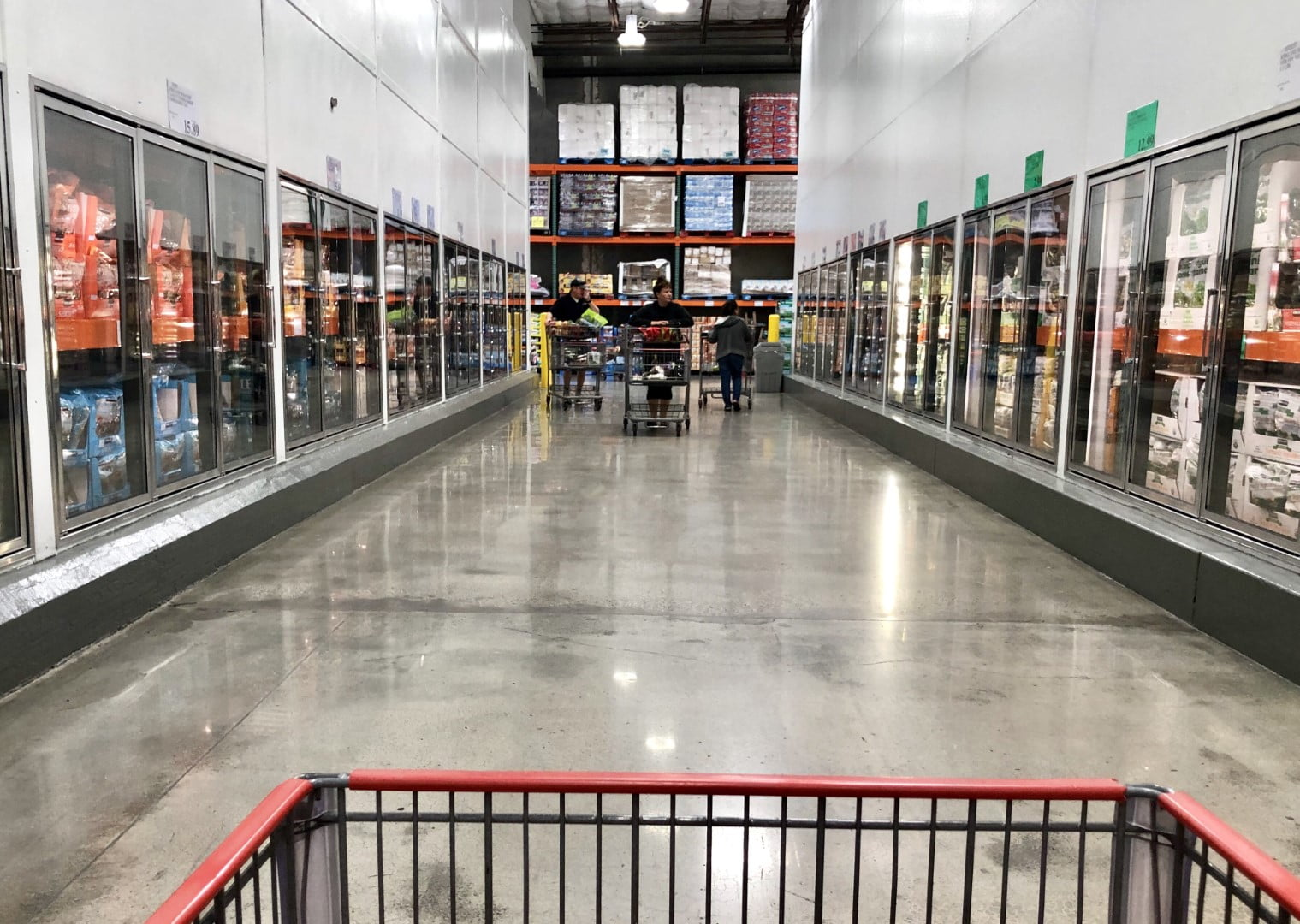 Should You Buy a Costco Membership? - featured image of a costco shopping cart in the store
