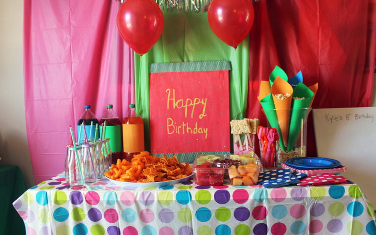 Painting Birthday Party ideas