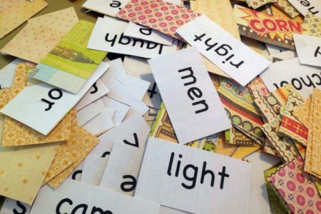 DIY Sight Word Flashcards