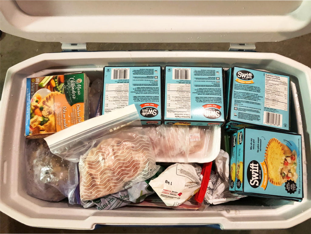 How to defrost an upright freezer