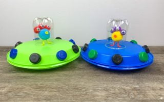 Spaceship Alien Art Craft for Kids