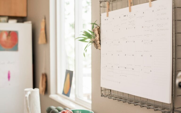 The Best Wall Calendars for Busy Families