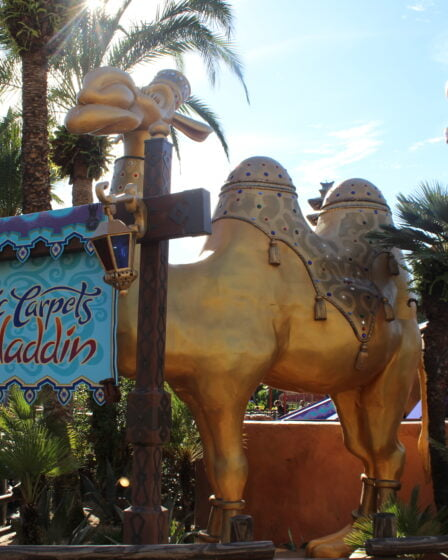 Magic Carpets of Aladdin Ride