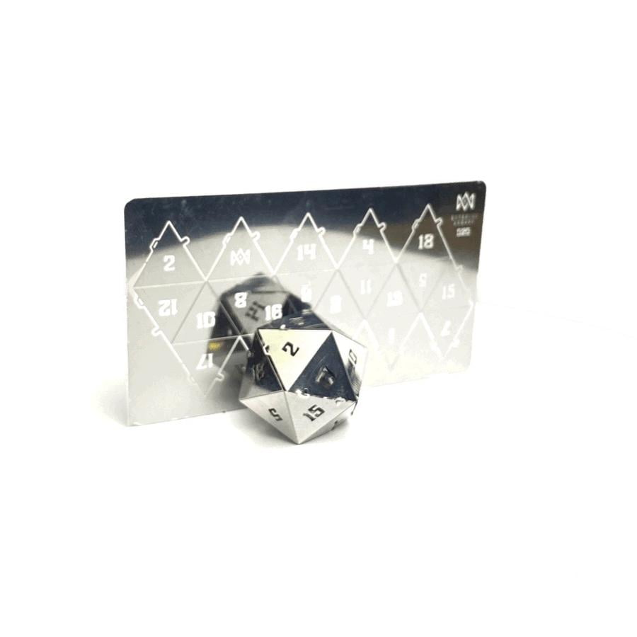 D20 puzzle from Mythroll Armory review
