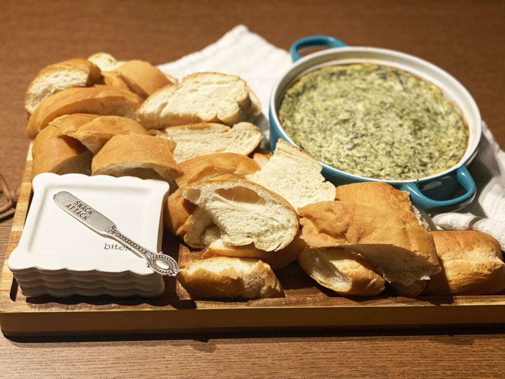 What Do you Dip in Spinach Dip?