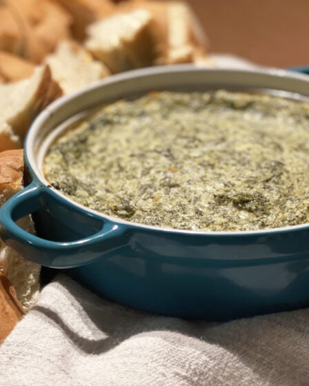 Baked Hot Spinach Dip Recipe