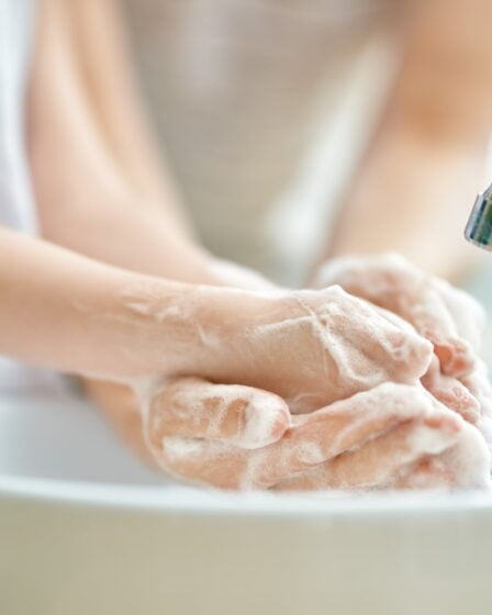 Getting your kids to wash their hands